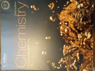 Chemistry (Advanced Science) 3rd edition Collins Chris Cooley & Phil Hills