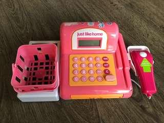 Just Home Toy Cash Register