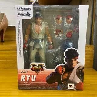 shfiguarts street fighter akuma ryu chun li k.o.