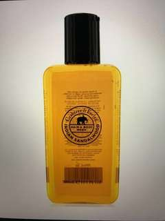 30% off men's hair and body wash Crabtree & Evelyn Indian Sandalwood