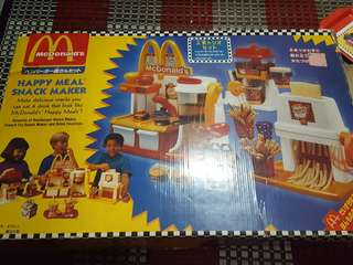 Antique MacDonald toys