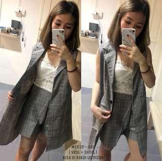 Vest + Celana (Satu Set)