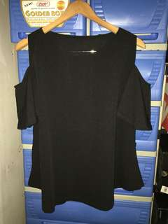 Cold shoulder blouse  Large to XL