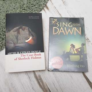 Sing to the dawn & the case book of sherlock holmes