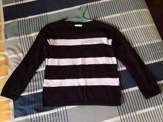 Long sleeve stripe tee