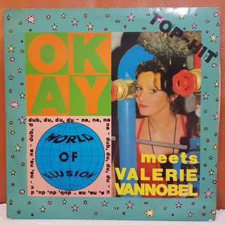 Okay feat. Valerie Vannobel - World If Illusion Vinyl Record