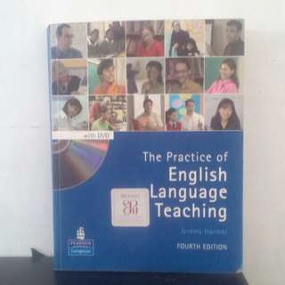Buku The Practice Of English Language Teaching , karya : Jeremy Harmer