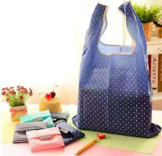 [Every 4 for 1 free!] Eco reusable foldable shopping travel bag gift