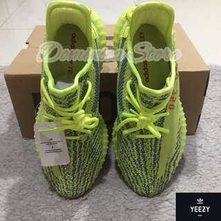 Adidas Yeezy 350 V2 Frozen Yellow Size 41 1/3