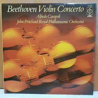 Classical》Beethoven Violin Concerto in D Opus 61 Vinyl Record
