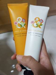 Hand and Foot Lotion