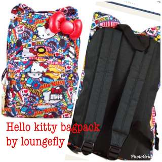 Hello Kitty character backpack by Loungefly