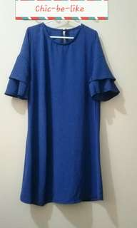 Mid dress in Royal Blue