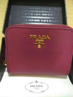 全新Prada coins wallet