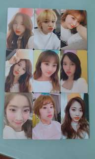 Twice membership photocard