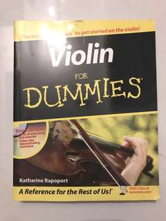Violin guidebook for beginners