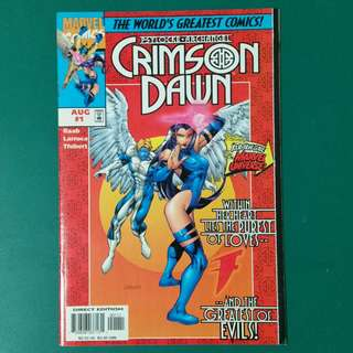 Psylocke & Archangel: Crimson Dawn No.1-4 comics