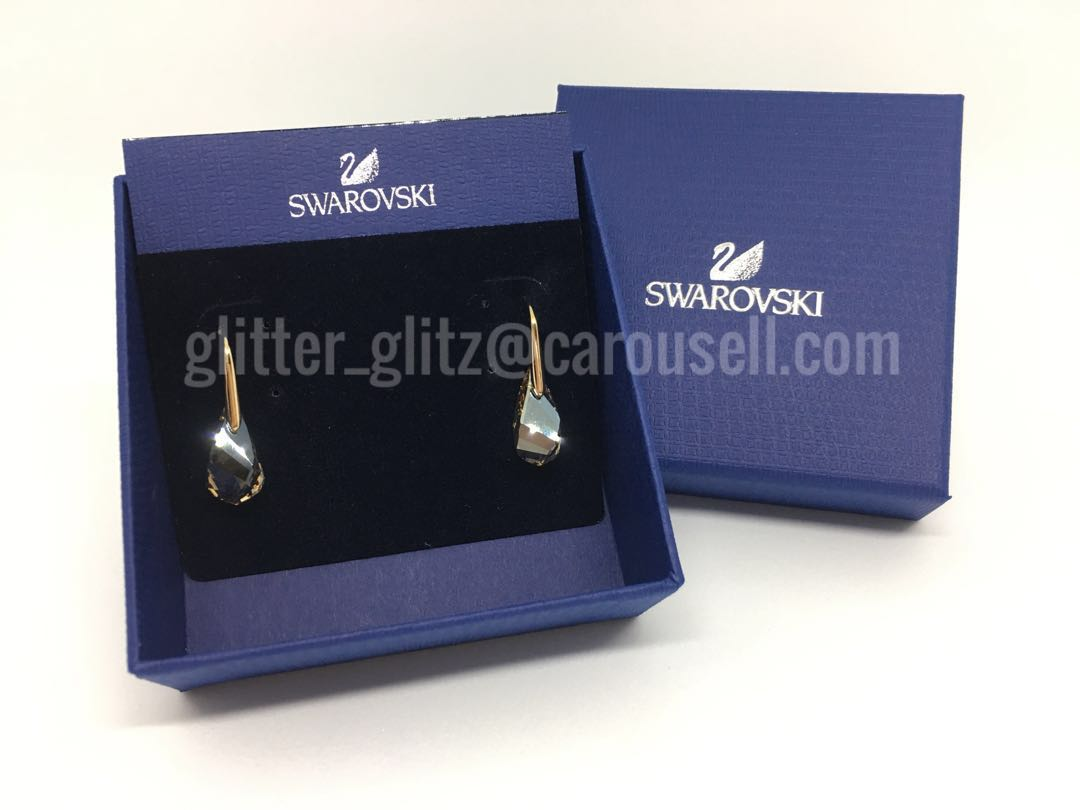 c1f19c23f New Genuine Swarovski Golden Energic Earrings 5195920 (RRP S$149), Women's  Fashion, Jewellery, Earrings on Carousell