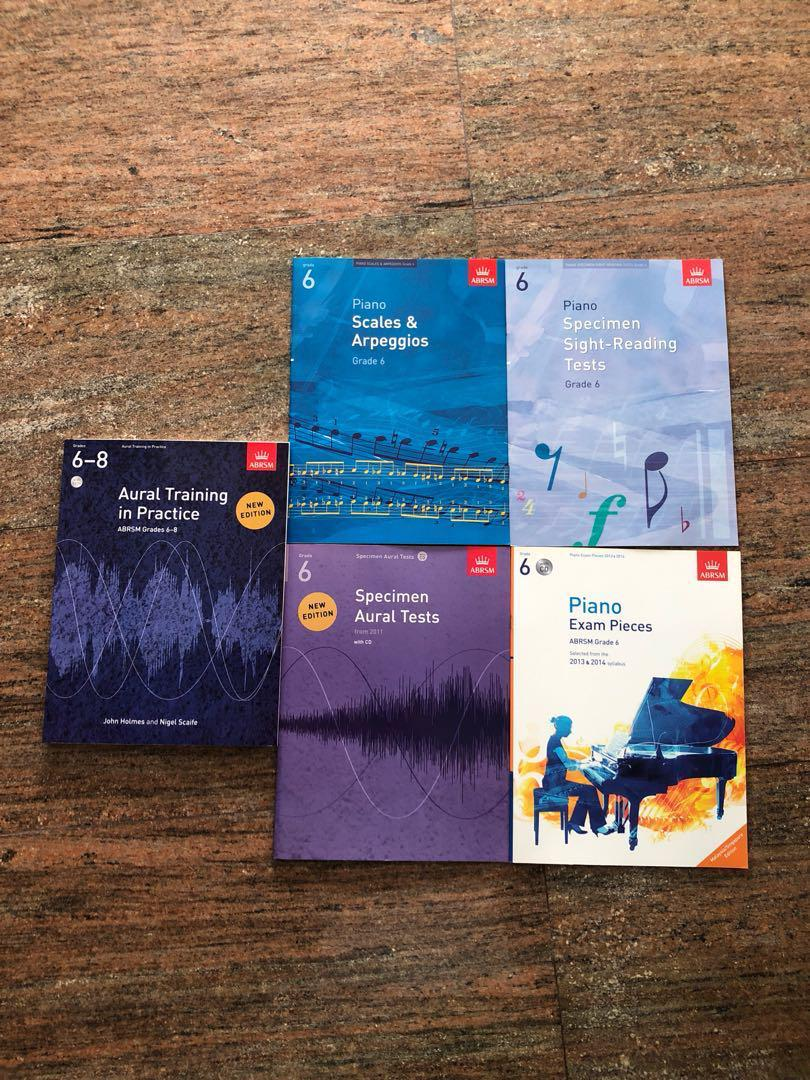 Aural Training in Practice ABRSM Grades 6-8 Sheet Music Book and 3CDs Tests Exam