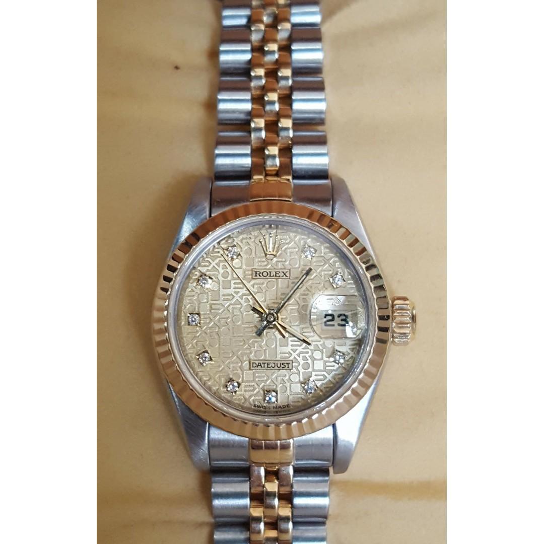 2516d7ea1a9 Authentic Preloved Rolex Ladies Watch !