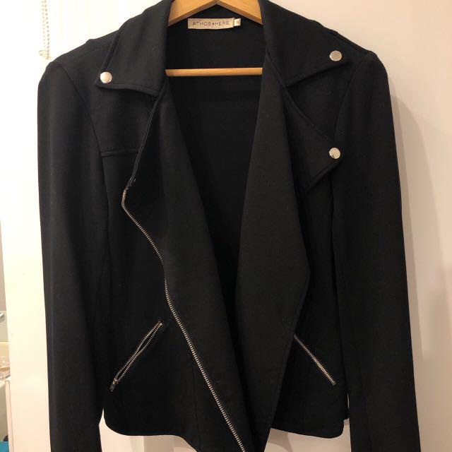 Black Biker Looking Jacket