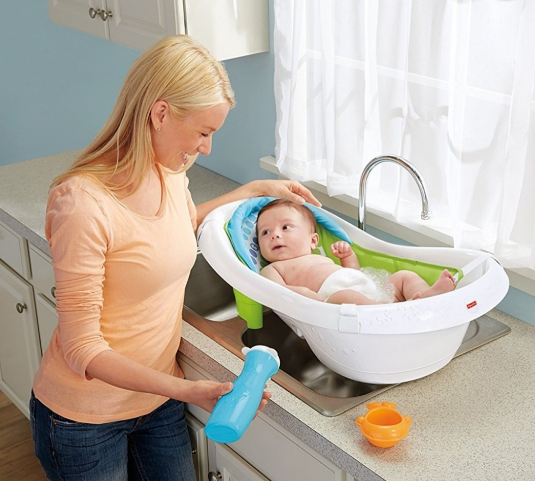 d3b150e1e03 BN Fisher-Price 4-in-1 Sling N Seat Bath Tub