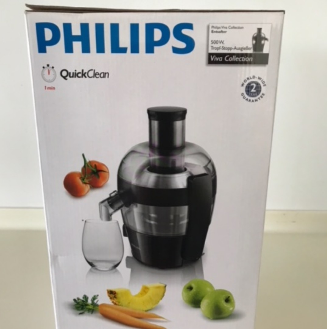 Brand New Philips Juicer Home Appliances Kitchenware On Carousell Extractor Hr1811 Photo