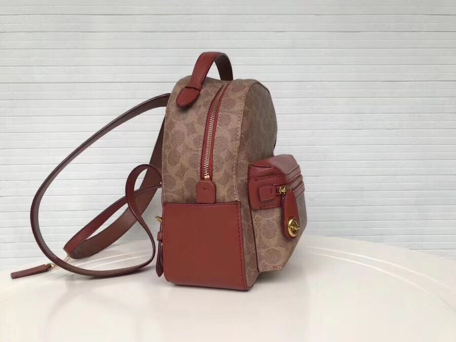 a89f3be4cce7d Coach Campus Backpack 23 in signature canvas