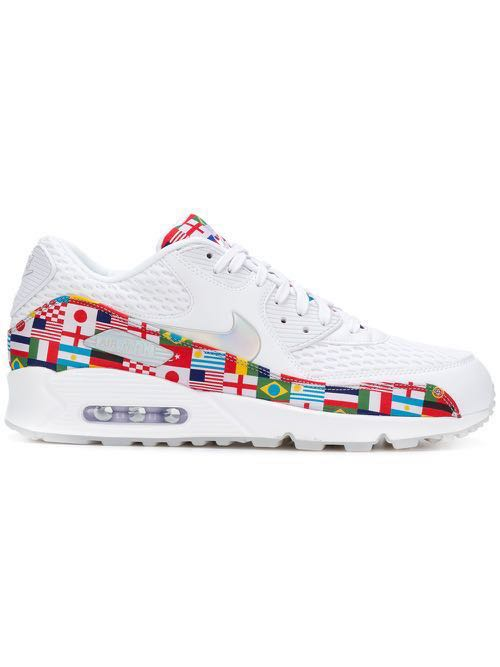 "b7eac389b1d21f Collector s Item  Nike Air Max 90 ""ONE WORLD INTERNATIONAL FLAG ..."