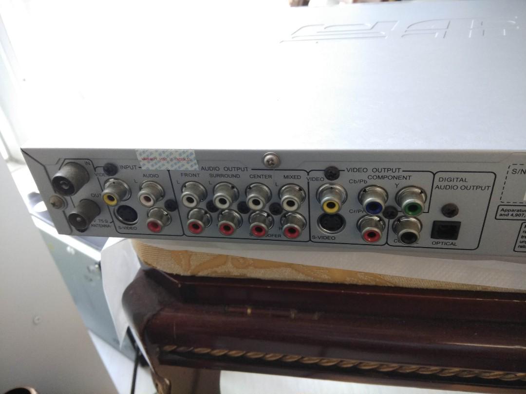 步步高DVD機 BBK DVD player (with burn function)  no remote control