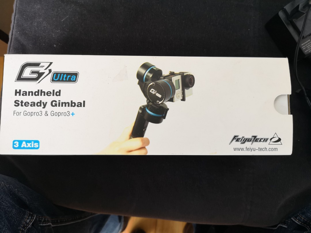 Feiyutech 3 Axis Gimbal For Gopro Hero Photography Video Feiyu Spg Handheld Steady Smartphones Extra Battrey Photo