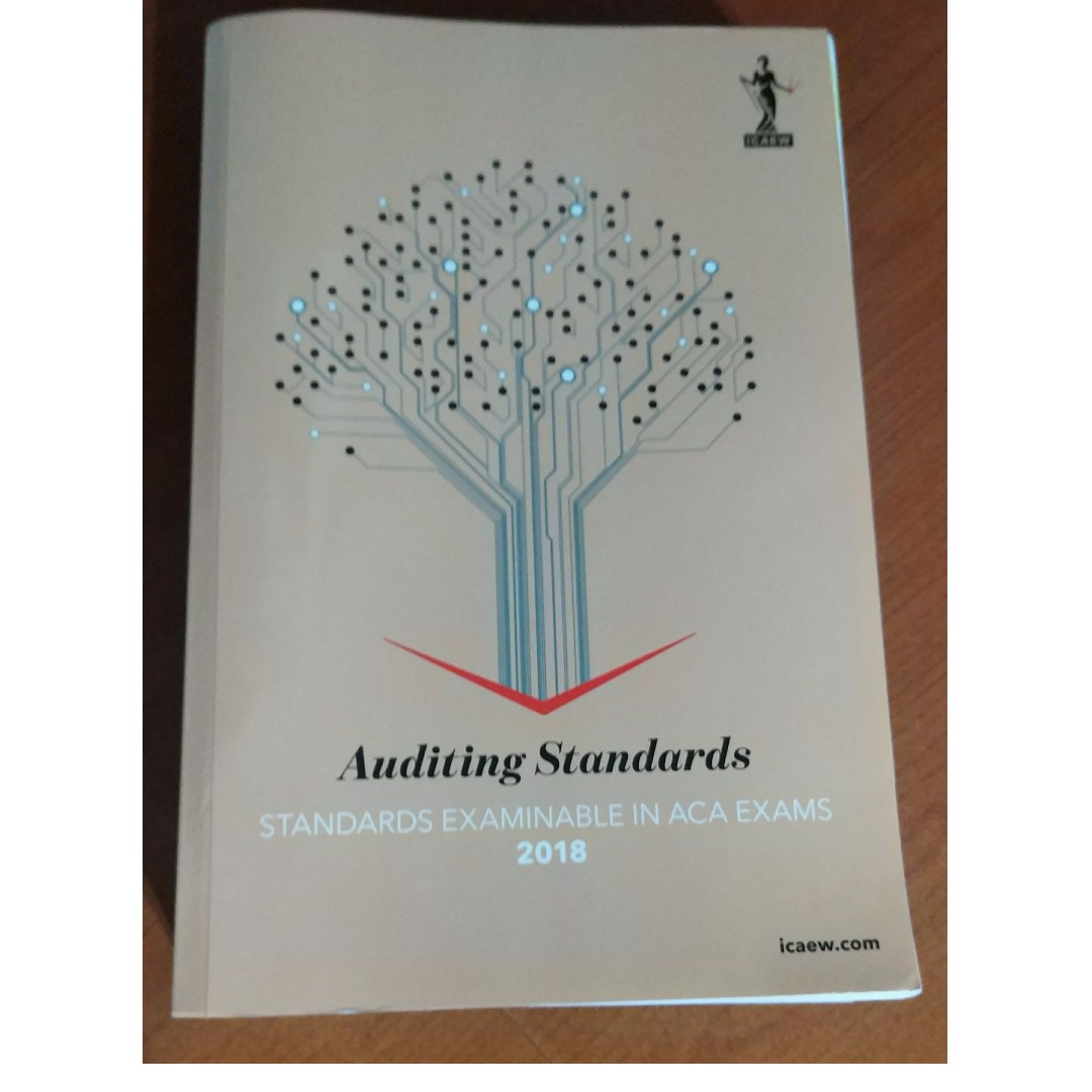 ICAEW Audit and Assurance Question Bank/Study Manual/Permitted Text 2018,  Books & Stationery, Textbooks, Professional Studies on Carousell