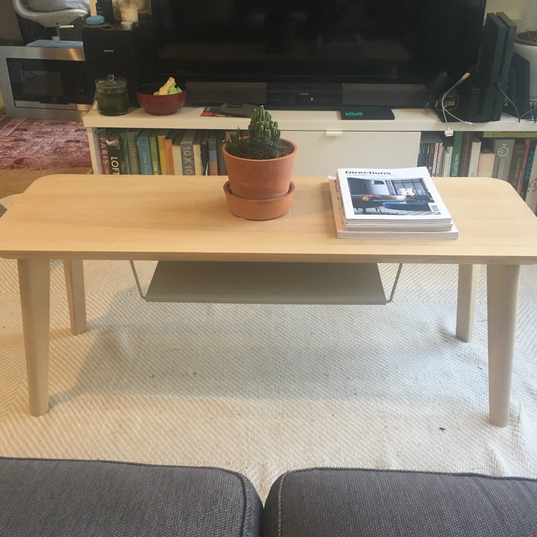 Picture of: Ikea Lisabo Tv Bench Coffee Table Furniture Tables Chairs On Carousell