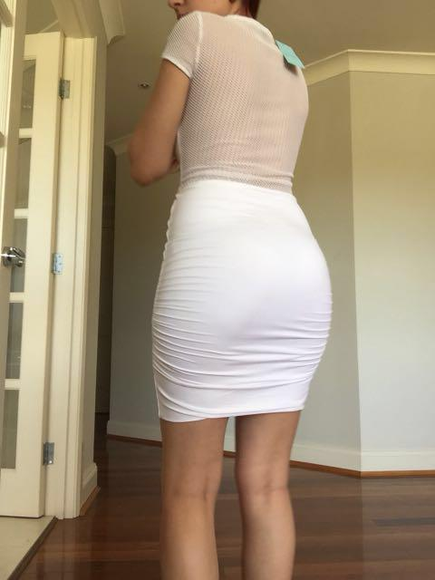 Including post- kookai white dress size 1