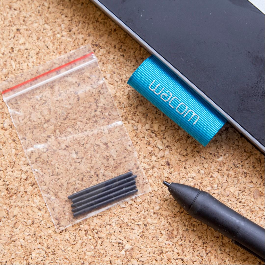 [INSTOCKS] Wacom Tablet Standard Replacement Nibs (Black)