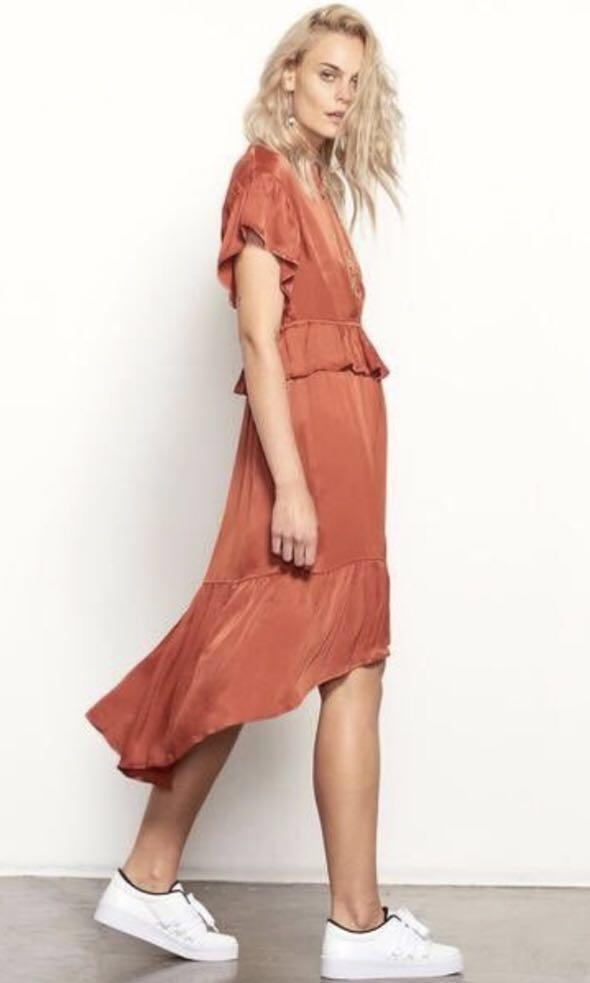 Isla The Label Copper Dress