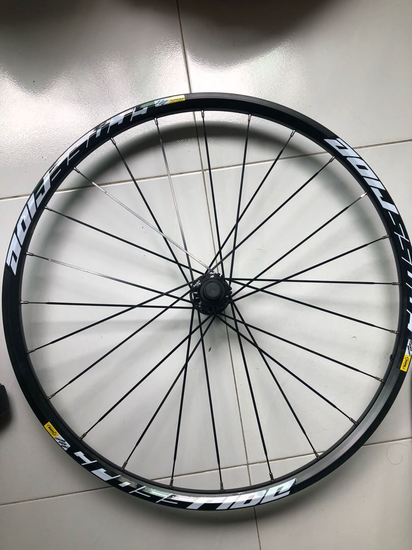 9f55410f8a2 Mavic Crossride 9MM Front Wheel, Bicycles & PMDs, Bicycles, Mountain ...