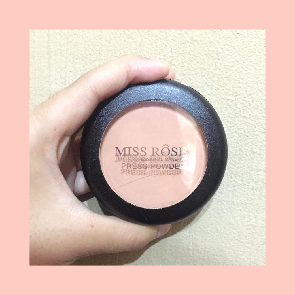 Miss Rose Press Powder, Health & Beauty, Makeup on Carousell