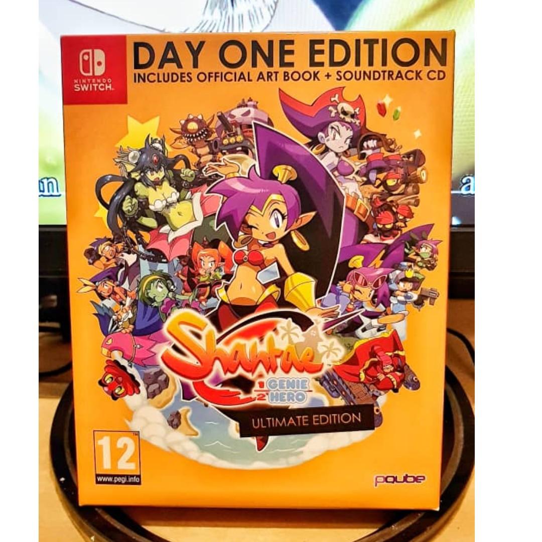 shantae half genie hero ultimate edition win screens