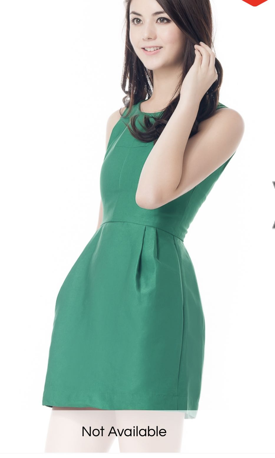 Ninth collective VAINPOT MINI PROM DRESS IN KELLY GREEN, Women\'s ...