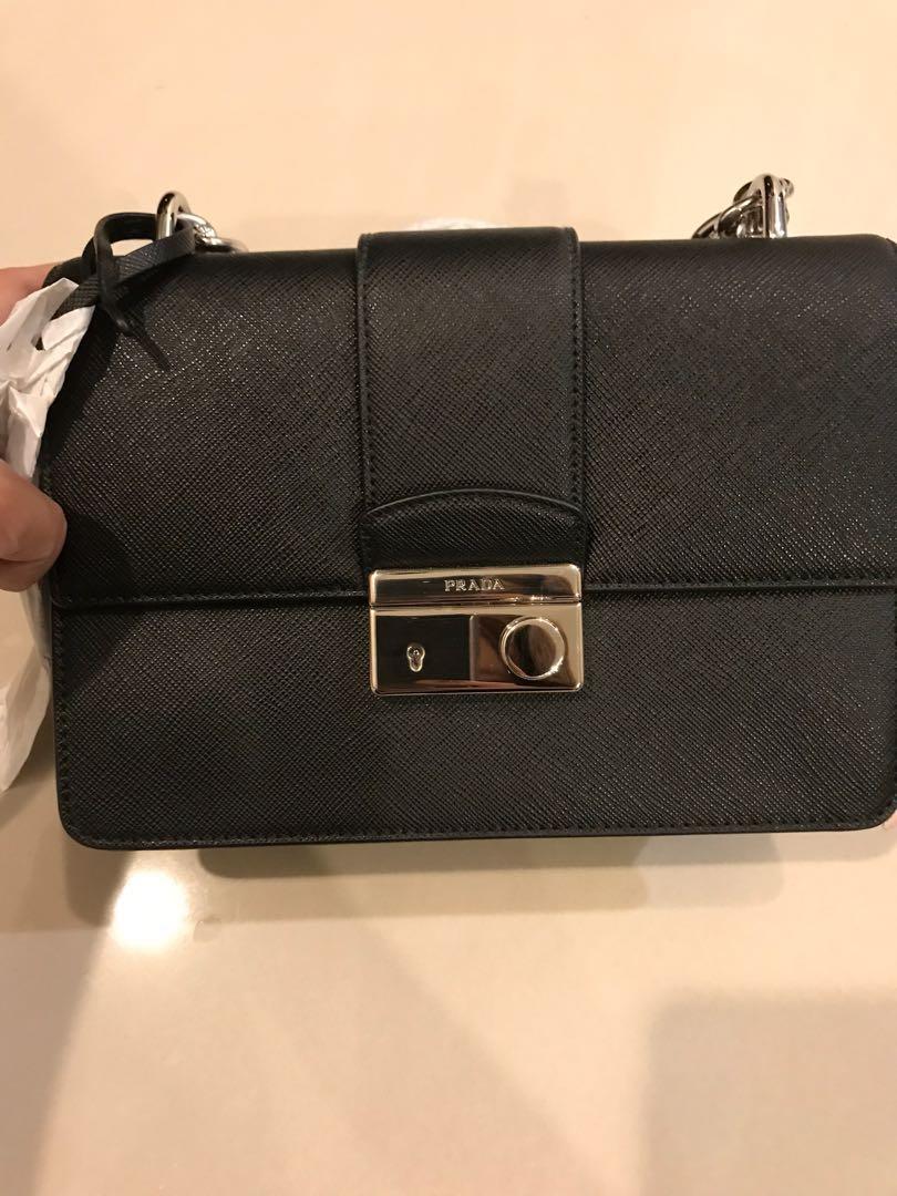 a550854d63150 Prada Saffiano crossbody bag (New) (Authentic)
