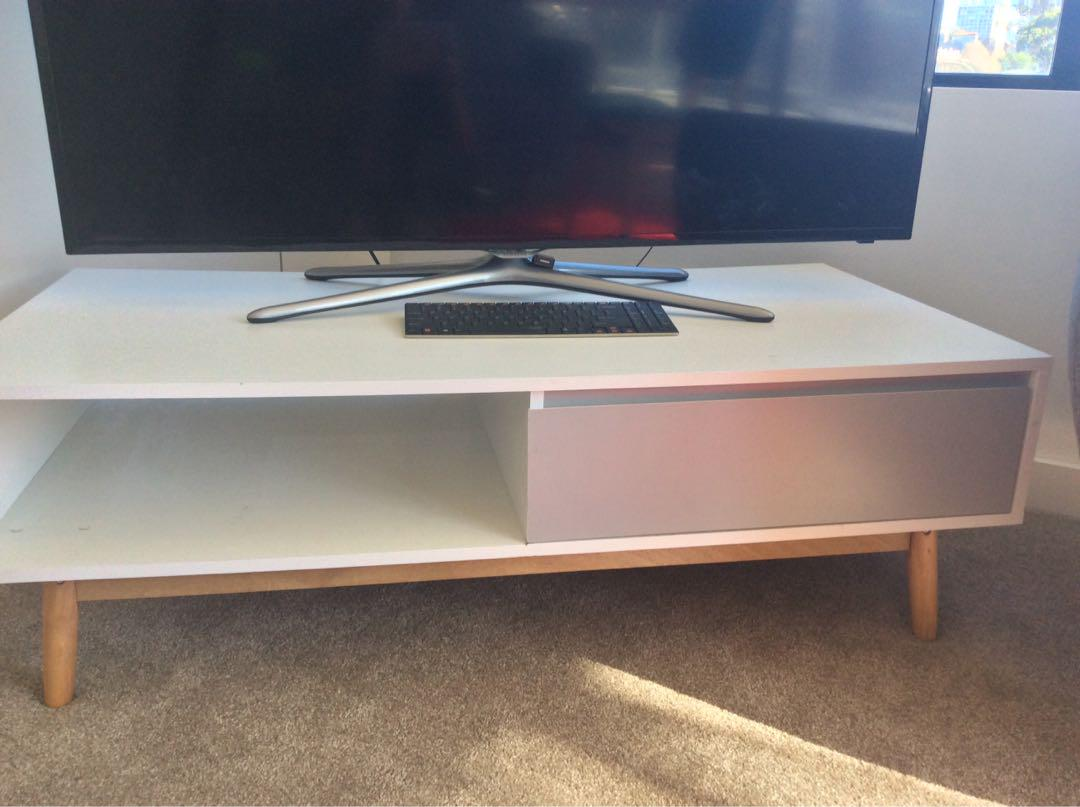 Scandi tv cabinet, Home & Furniture, Furniture on Carousell