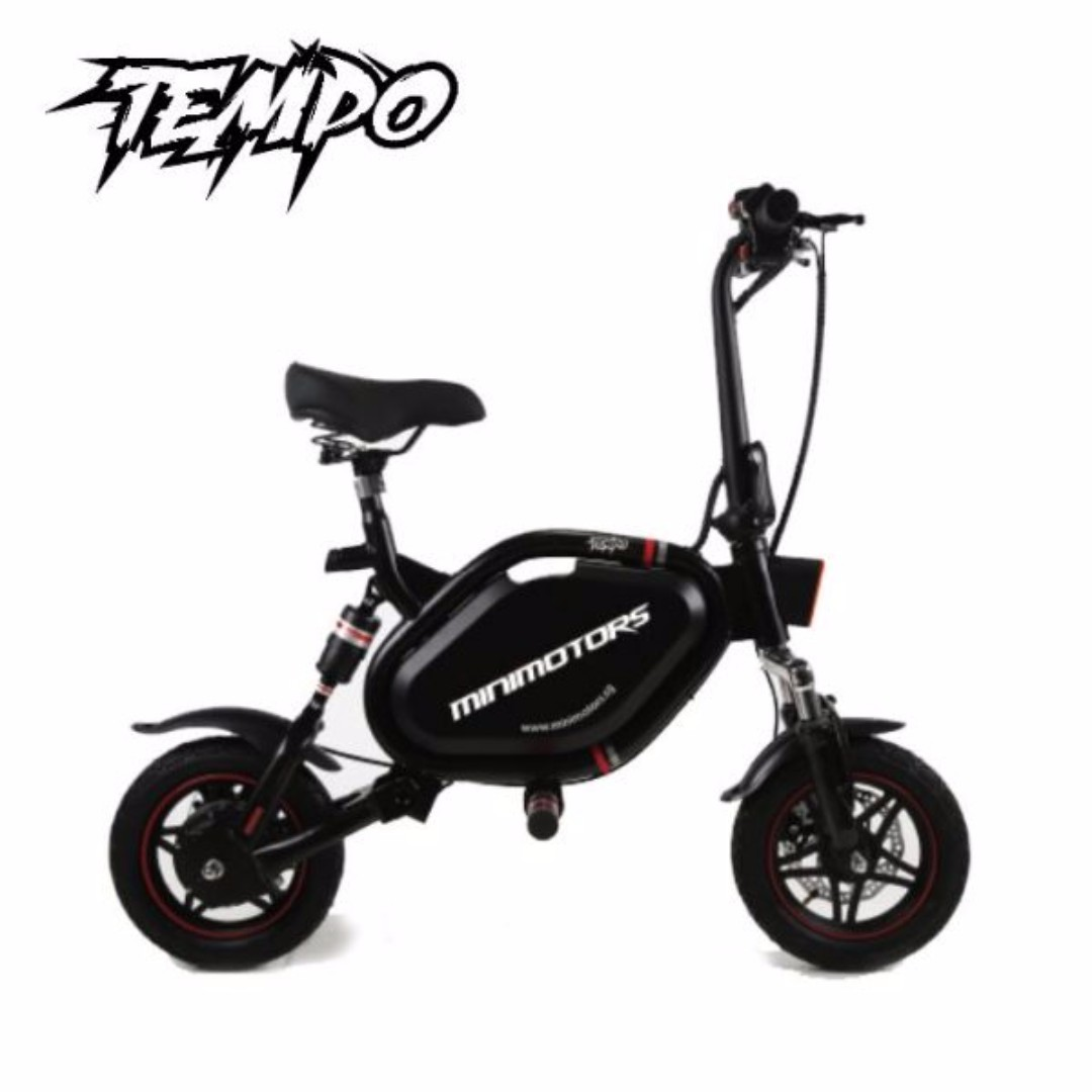 speedway tempo electric scooter escooter bicycles. Black Bedroom Furniture Sets. Home Design Ideas