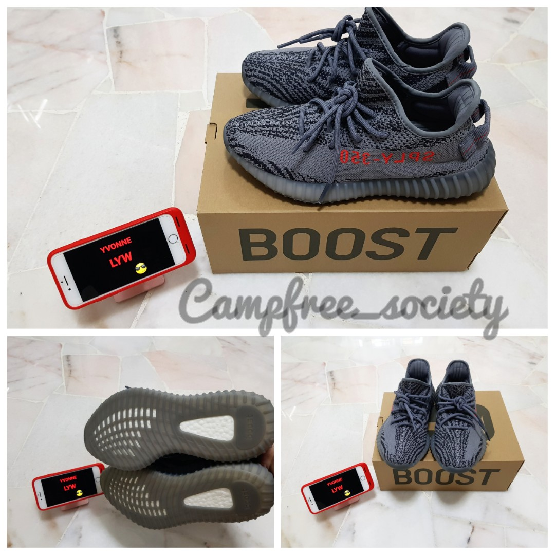 67f293b786ce9 Used) UK 7.5 - Adidas Yeezy Boost 350 v2 Beluga 2.0