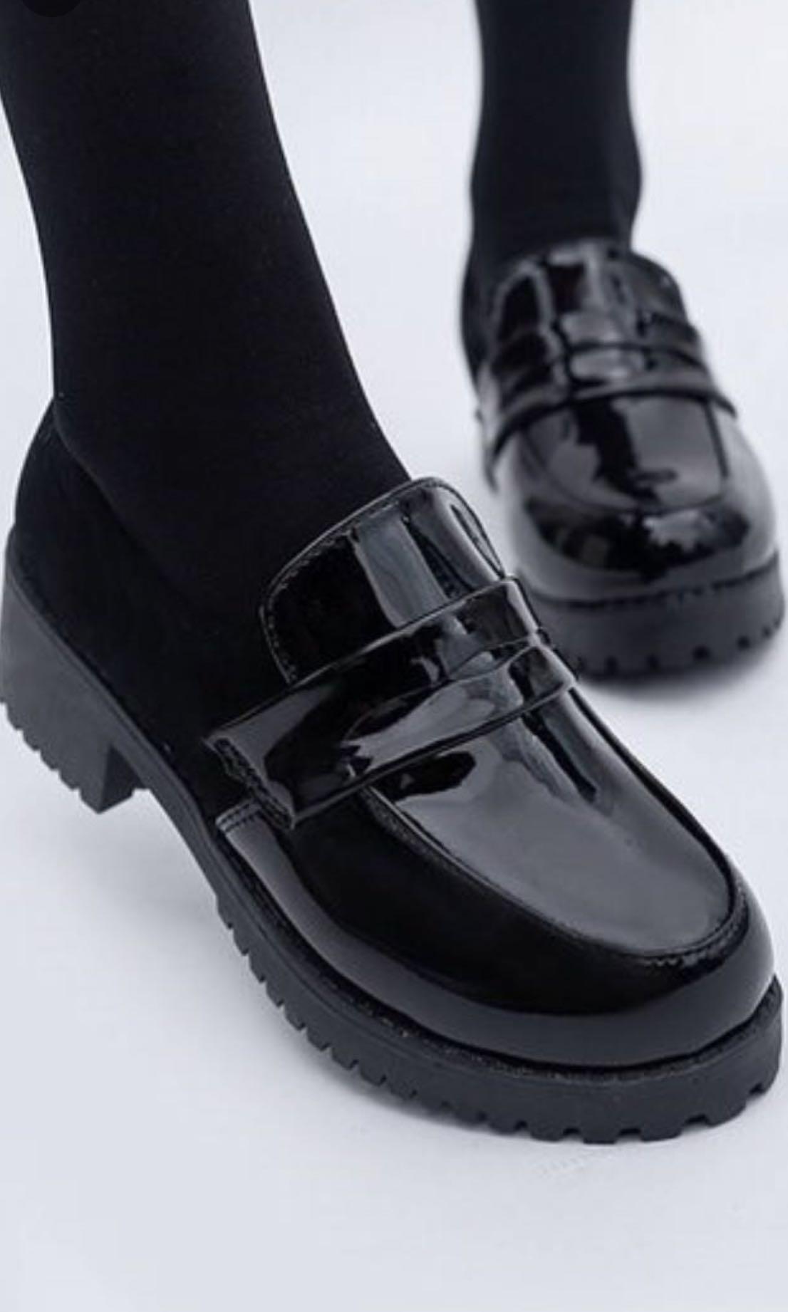 WTS Black Japanese school shoes, Women