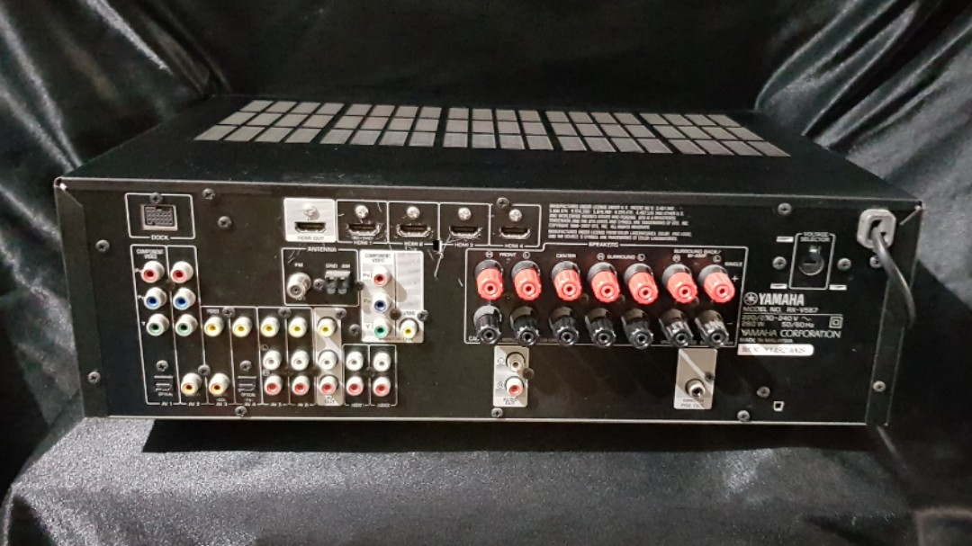 Yamaha dsp 7 1 hdmi rx-v567 amplifier amp hifi home