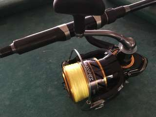 Daiwa mission cs3000 spinning reel