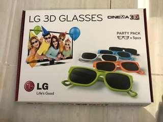 LG 3D passive glasses