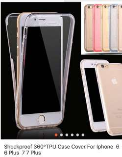 360 Soft Cover for IPhone6 plus (Transparent)
