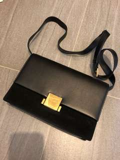Saint Laurent Bellechasse medium leather bag